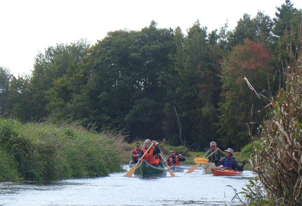 Grouping paddlers